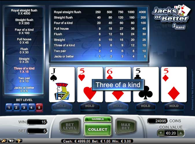 online slot machine games poker american