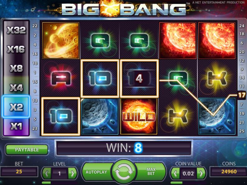 Spiele Big Bang - Video Slots Online
