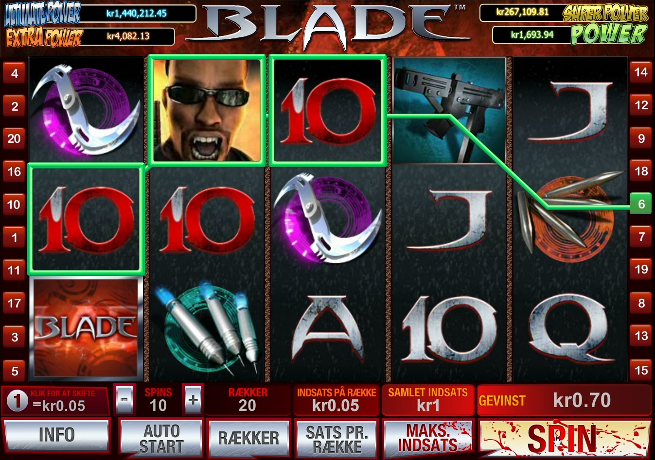 play blade slot free online
