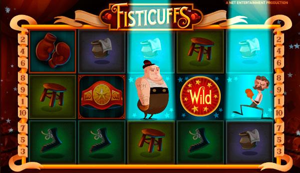 Fisticuffs - 100% Free Online Video Slot
