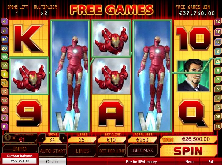 The Iron Mask Slots - Try it Online for Free or Real Money