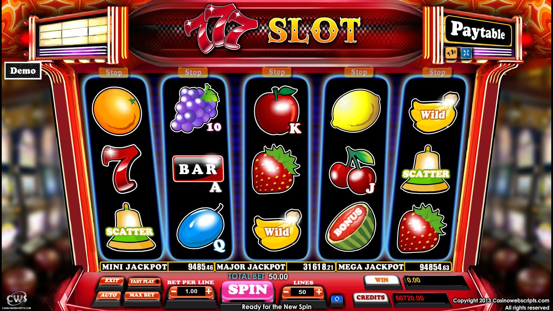 video slot machines free online