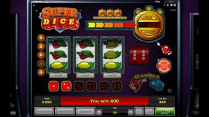 Super Dice slot machine