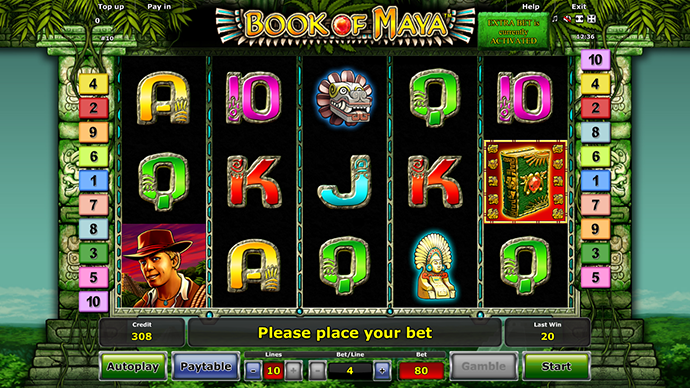 Book of Maya Slots by Novomatic - Play for Free Online