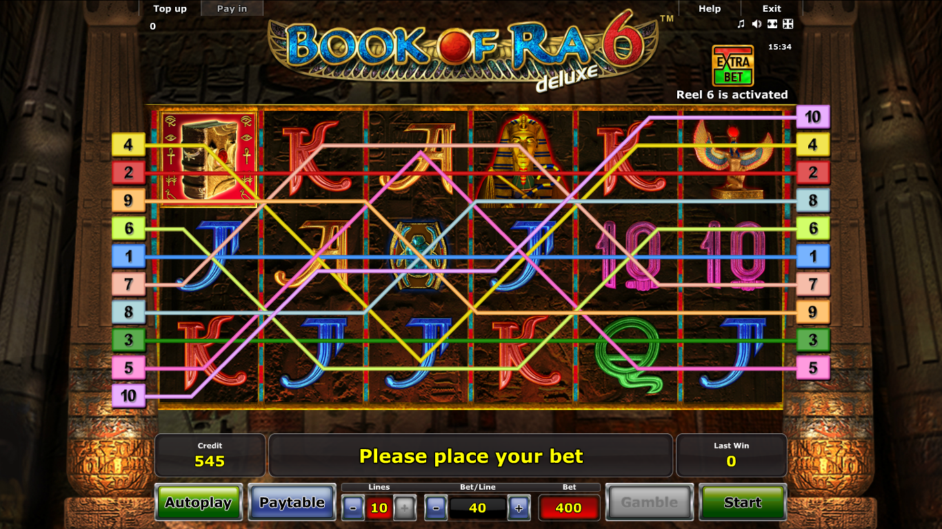 Book of Ra deluxe: Jackpot Edition slot now at Casumo