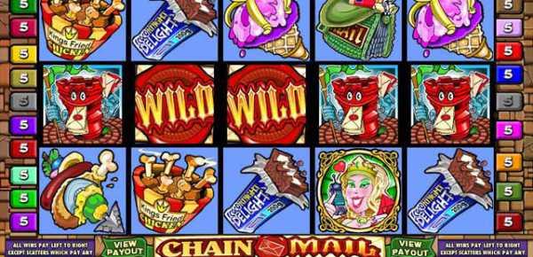 Chain mail slot