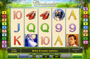 Cindereela slot machine