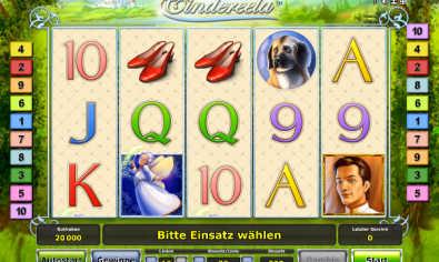 Cindereela slot machine