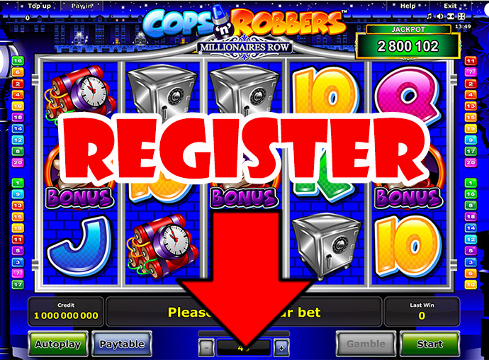 Cops n Robbers Millionaires Row Slot - Try for Free Online