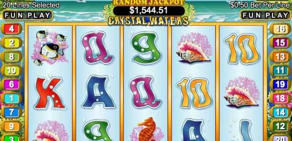 Crystal Waters slot machine