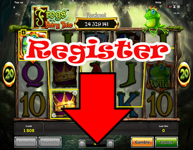Frogs Fairy Tale Slot Machine - Play it Now for Free