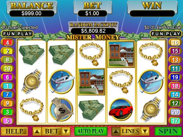 online slots real money fast money