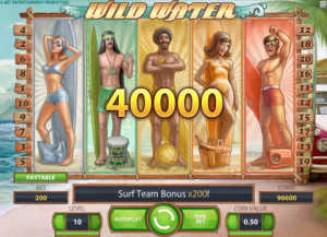 Wild Water slot game