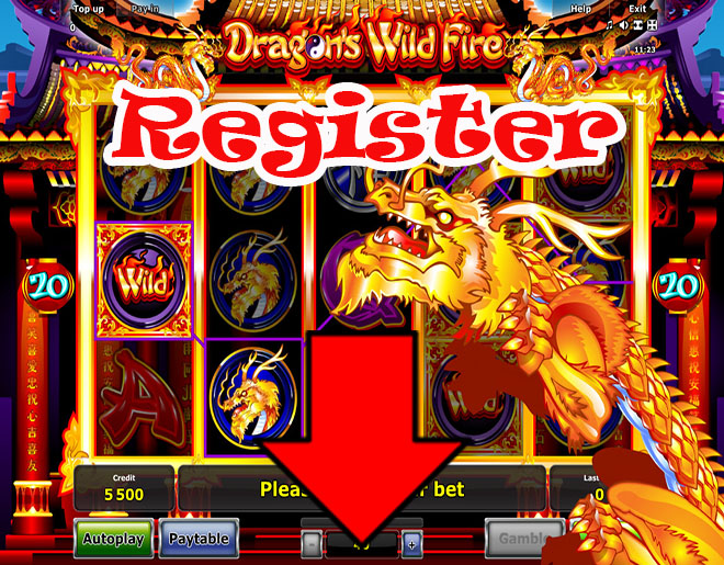 Dragon's Wild Fire slot machine