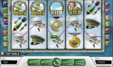 Pacific Attack slot machine