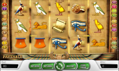 Secret of Horus slot machine