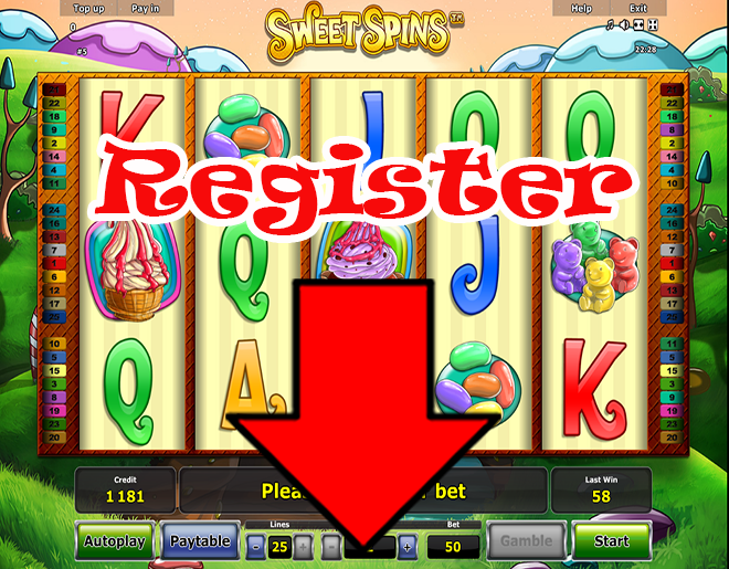Sweet Spins slot machine