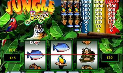 Jungle Boogie slot machine