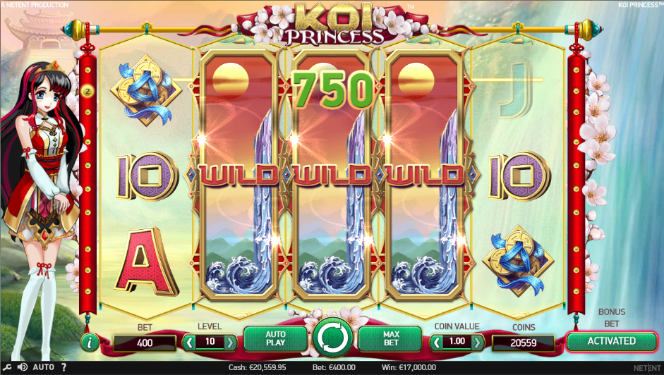 Princess of Sky Slot - Play for Free Instantly Online