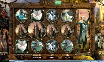 Orc vs Elf slot machine
