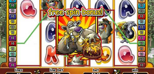 Bonus Bears slot machine