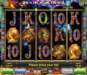 Play Book of Stars slot