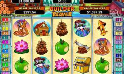 Builder Beaver slot machine game