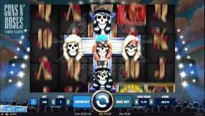 Guns N' Roses slot game