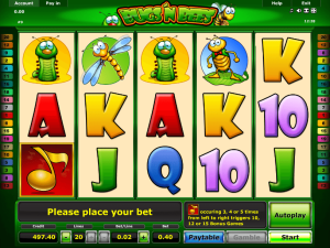Bugs'n Bees slot machine