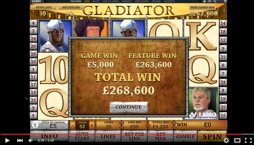 Gladiator Slots Free Play & Real Money Casinos