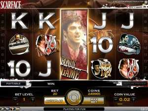 Scarface slot machine online