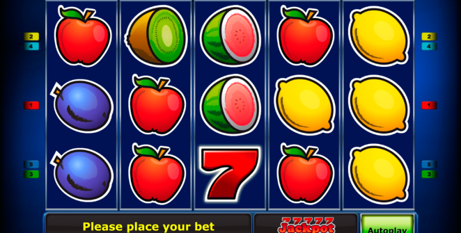 Fruitsn sevens slot machine