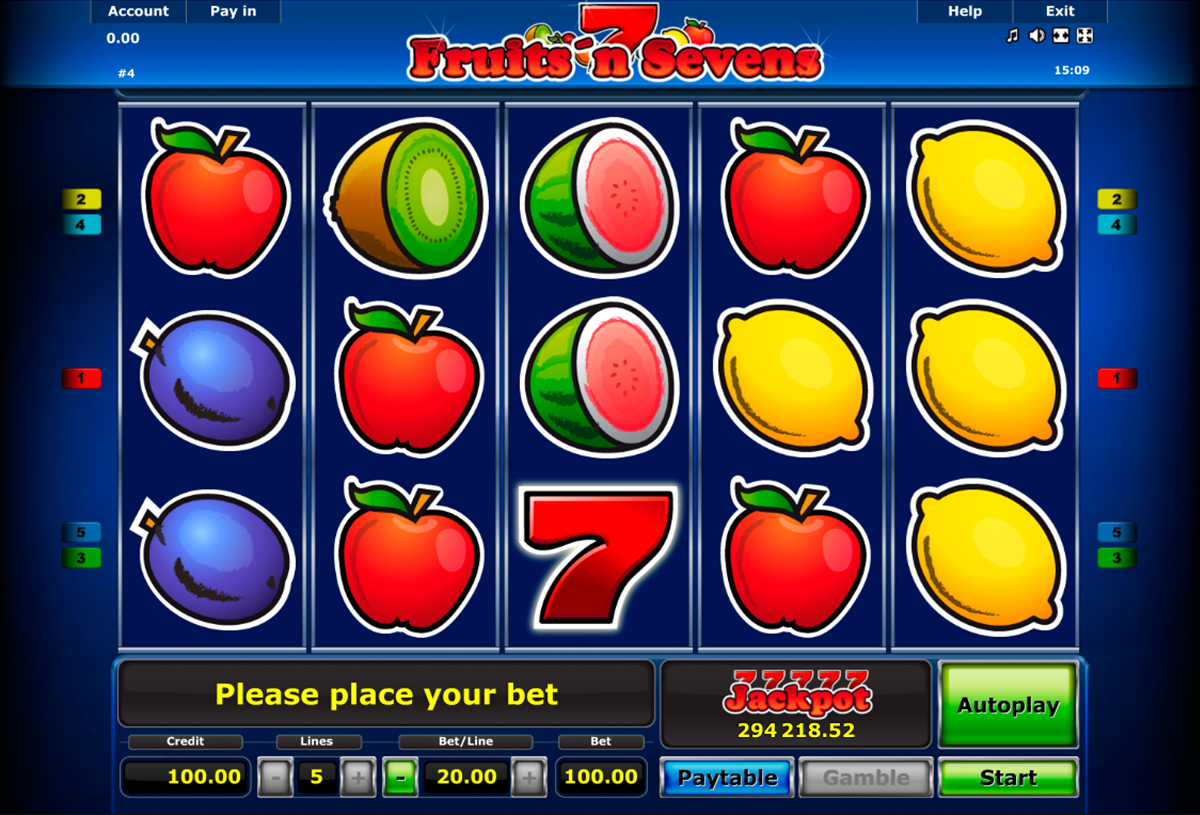 Fruits and Sevens Slot Machine Online ᐈ ™ Casino Slots