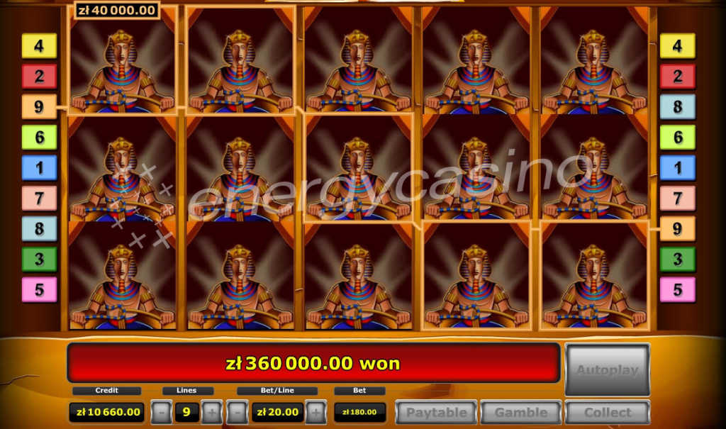Polish player Big win on EnergyCasino