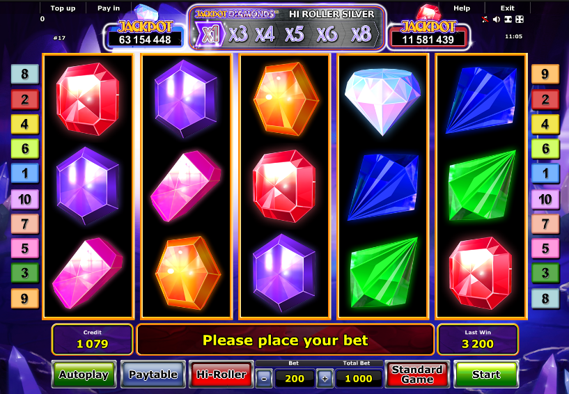 Highroller Jackpot Slot Machine - Play Online for Free Money