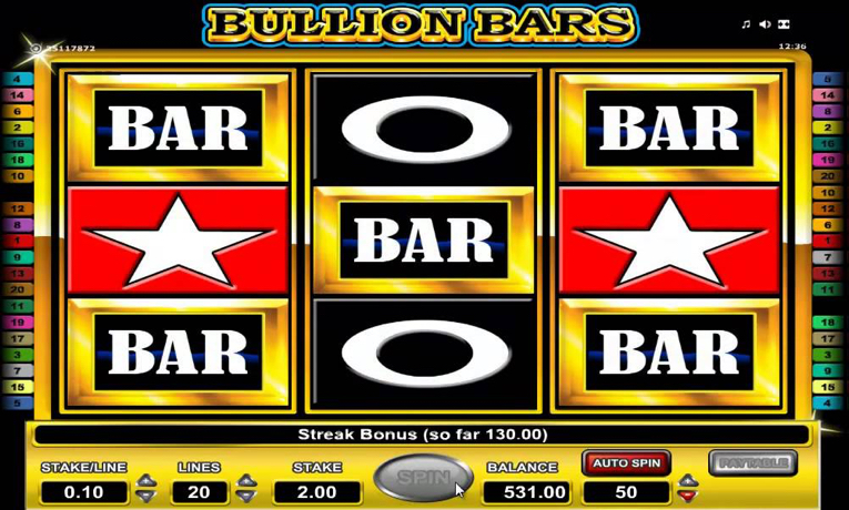 Bullion Bars Slot Machine - Play Now for Free or Real Money