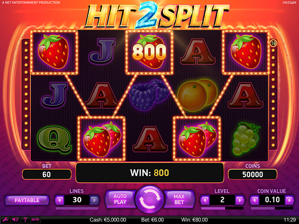 Spiele Hit 2 Split Slot - Video Slots Online