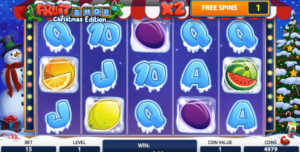 Fruit Ship Christmas Edition slot machine