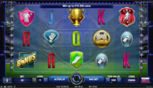 Football Champions club slot machine