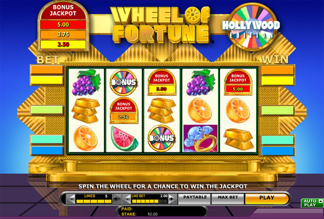 play wheel of fortune slot machine online online games online
