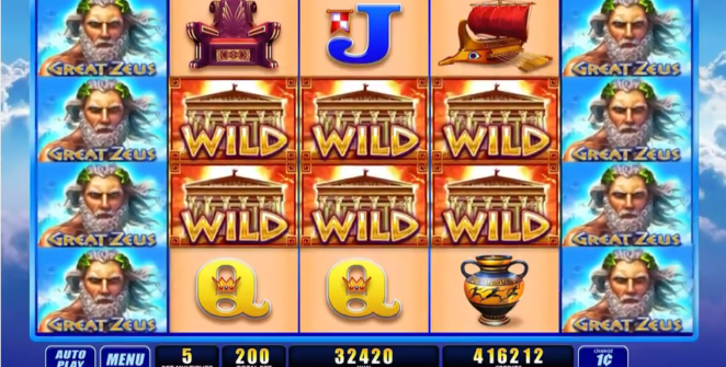 Great Zeus slot online