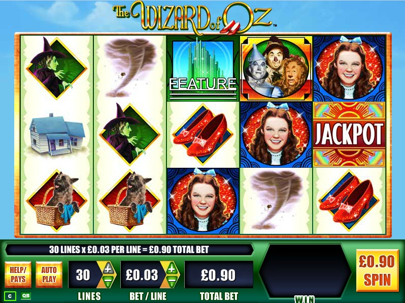 wizard of oz slot machine online to play free