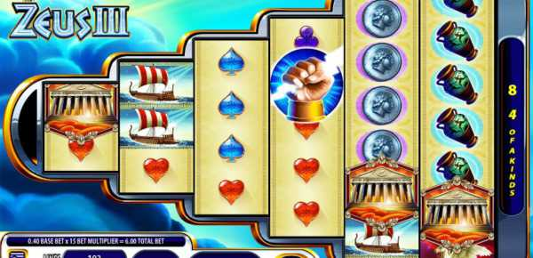 Zeus 3 slot machine online