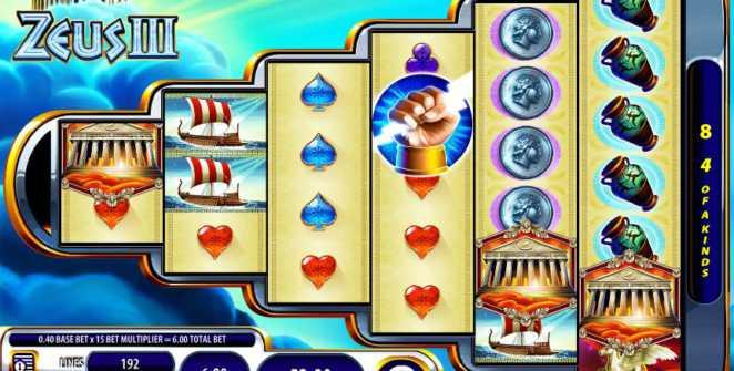 Zeus 3 slot machine online
