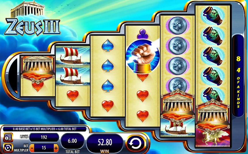 slot machine zeus free
