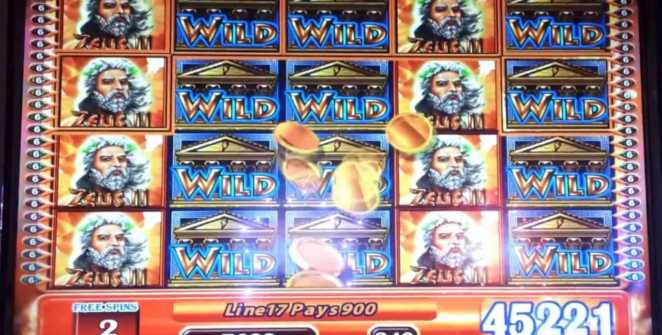 First Zeus slot machine