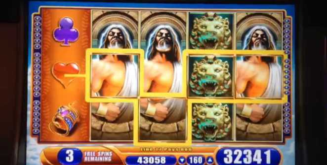 WMS Kronos slot machine tips