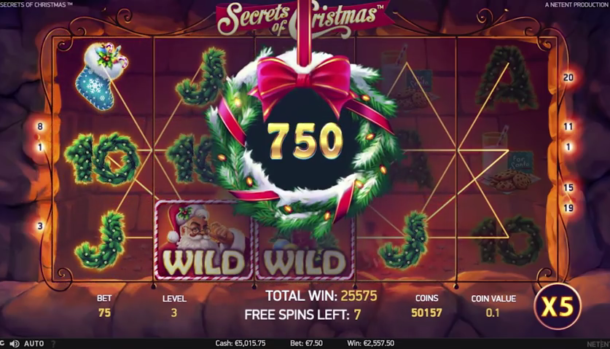 Secrets of Christmas slot