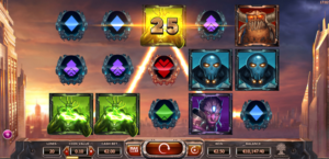 Super Heroes slot machine by Yggdrasil
