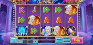 Age of the Gods Fate Sisters playtech slot machine